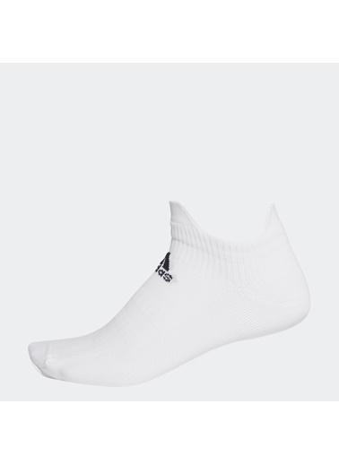adidas Unisex Alphaskin Bileksiz  Spor Çorap FK0957 Beyaz
